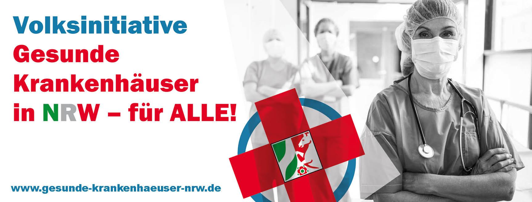 Volksinitiative für gesunde Krankenhäuser in NRW